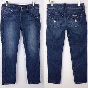 Hudson Flap Pocket Collin Skinny Crop